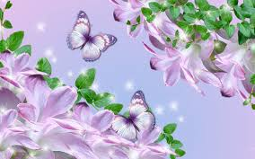 lilies and butterflies walldevil