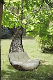 siege suspendu jardin un fauteuil suspendu au style romantique