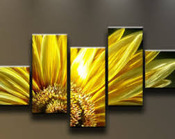 Sunflower Decorations Stylish Design Sunflower Wall Decor Superb Sunflower Wall Art