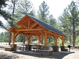 Picnic Shelter Plans Picnic Shelter Now Open Campground - Backyard shelters designs