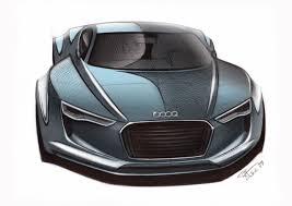 concept audi audi e tron detroit concept sketch 10 supercar sketches