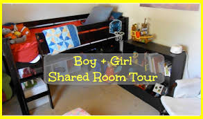 Boys And Girls Shared Bedroom Ideas Boy Shared Room Tour Small House Living Youtube