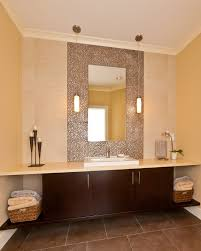 Bathroom Mirrors With Lights by Small Bathroom Mirrors Great Clara Backlit Mirror Home Decor For