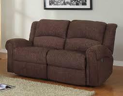 homelegance esther reclining sofa set dark brown chenille