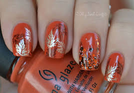 10 autumn inspired nails designs 2013 2014 styleoholic