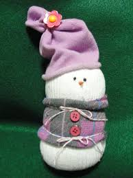 cute sock snowman diy christmas tutorial craft project youtube