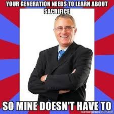 Baby Boomer Meme - scumbag baby boomer weknowmemes