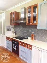 kitchen splashbacks metal splashback gallery and designs
