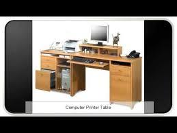 computer and printer table computer printer table youtube