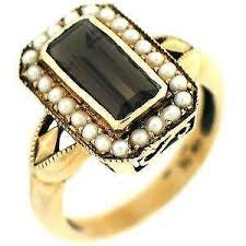 topaz rings prices images Smokey topaz ring ebay JPG