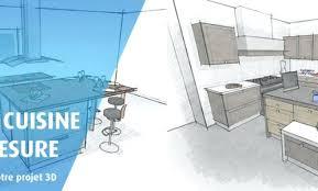 projet cuisine 3d cuisine mobalpa 3d top prestations en cuisines with cuisine