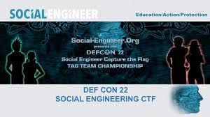 Defcon Capture The Flag The Social Engineer Capture The Flag At Def Con 22 Webinar On Vimeo