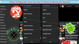 rabbit tv apk on android on demand and episodes from top tv