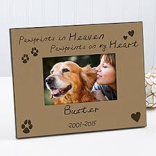 Personalized Remembrance Gifts Show Your Love For Your Pet With The Pawprints In Heaven