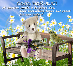 a sweeter smile free good morning ecards greeting cards 123