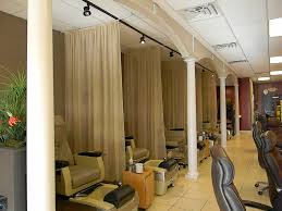 Small Hair Salon Modern White Small Hair Salon Interior Design Ideas With Modern Brown Leather