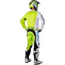 motocross gear ireland fox racing 2017 mx gear new 360 creo white flo yellow dirt bike