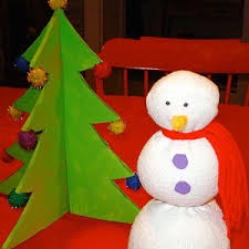 easy homemade snowman craft parenting