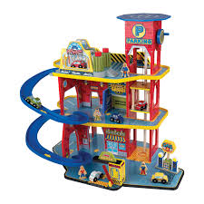 Plan Toys Parking Garage Reviews by Kidkraft Deluxe Garage Set Walmart Com