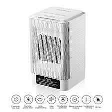 chauffage bureau keynice mini chauffage électrique céramique portable avec 3