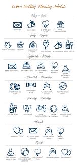 wedding planning schedule keeping clients organized custom wedding planning schedule