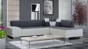 canape d angle droit canapé d angle droit gris et blanc
