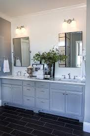 white double washstand with pottery barn kensington mirrors