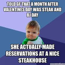 Steak And Bj Meme - and bj