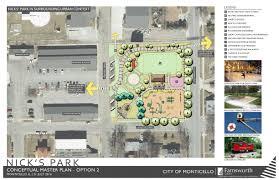 monticello il official website nick u0027s park renovation
