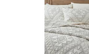 Newspaper Bedding Martha Stewart Collection Canyonlands 100 Cotton Embroidered King