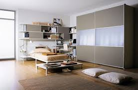 bedroom wonderful studio apartment design ideas with white