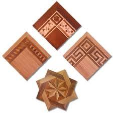decorative borders medallions parquet wood flooring accents