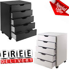 rolling file cabinet wood 5 drawer rolling file cabinet wood office holder document storage