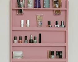 wall mounted makeup organizer nail polish rack beauty