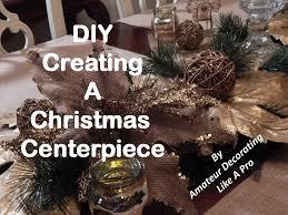Easy Christmas Centerpiece - diy christmas centerpiece easy christmas decor 2 youtube