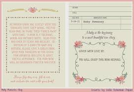 what can i write in a baby shower card choice image baby shower