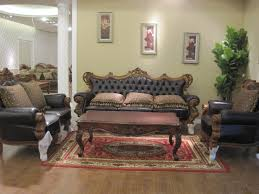 elegant living room interior design ideas with carved furniture