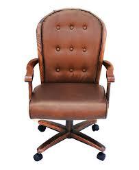 Swivel Tilt Dining Chairs by Chromcraft Furniture C183 936 Swivel Tilt Caster Dining Chair