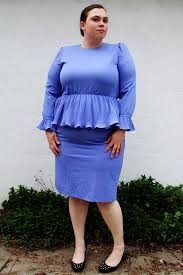 be confident to try plus size peplum dress 24 dressi