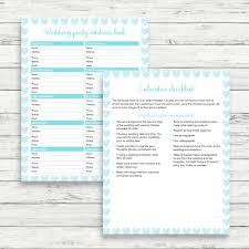 printable wedding planner light blue wedding planner light blue printable wedding kit