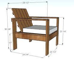 Patio Chair Plans Outdoor Furniture Patterns Lovable Wood Patio Furniture Plans Free