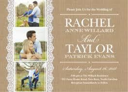 rustic wedding invites burlap lace rustic wedding invitations showcase