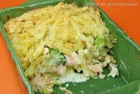 cuisiner le brocolis frais gratin de macaronis saumon brocolis mascarpone péché de gourmandise