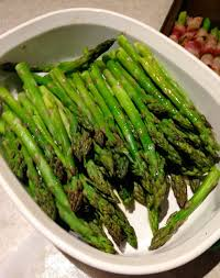 easiest bacon wrapped roasted asparagus thanksgiving recipe
