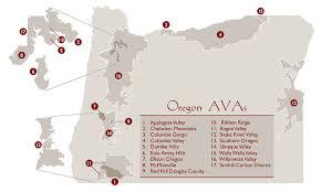 what s an oregon s wine growing regions oregon wines