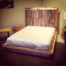 bedroom reclaimed storage bed reclaimed wood queen bed frame bed