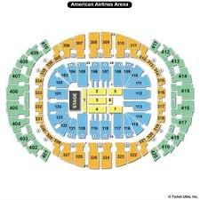 American Airlines Floor Plan Americanairlines Arena Seating Charts