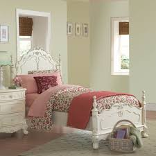 Girls White Twin Bed Kid Bedroom Interesting Kid Full Size Bed Decoration With