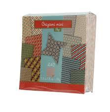 mini carnet de note papier origami mini pop avenue mandarine mille et une feuilles
