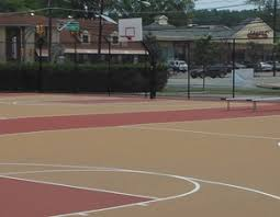 Basketball Courts With Lights Leisure Services Borough Of Tenafly New Jersey
